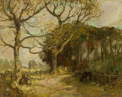 Lot 113 - WILLIAM MOUNCEY (SCOTTISH 1852-1901)