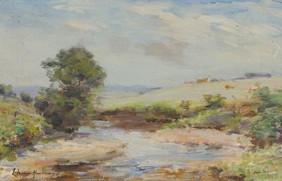 Lot 126 - JOSEPH MORRIS HENDERSON R.S.A (SCOTTISH 1864-1936)