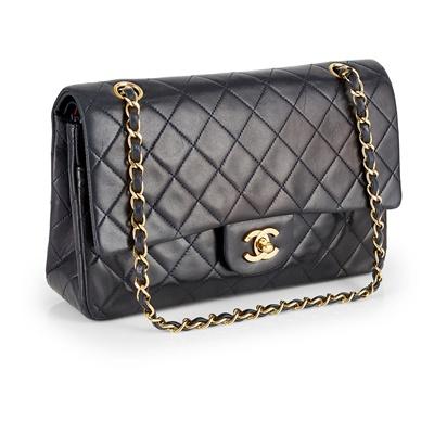 Lot 157 - A classic double flap shoulder bag, Chanel