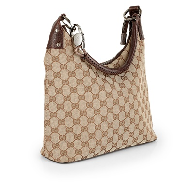 Lot 161 - A horsebit top handle hobo bag, Gucci