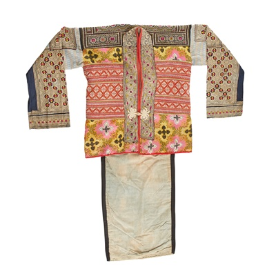 Lot 15-COLLECTION OF MIAO ETHNIC COSTUMES