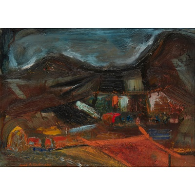 Lot 19 - DAVID MCLEOD MARTIN R.S.W., R.G.I., S.S.A (SCOTTISH 1922-2018)