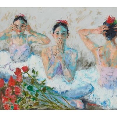 Lot 101 - MURIEL BARCLAY (SCOTTISH CONTEMPORARY)