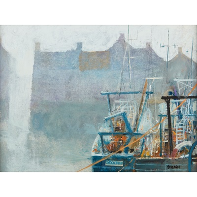 Lot 3-JAMES FRASER (SCOTTISH CONTEMPORARY)