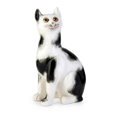 Lot 92 - A WEMYSS WARE CAT