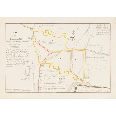 Lot 20-West Lothian Manuscript Estate Plans
