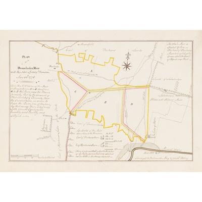 Lot 20 - West Lothian Manuscript Estate Plans