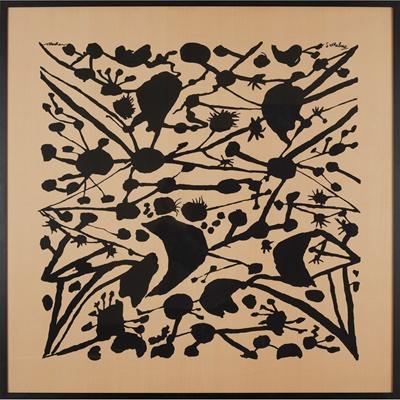 Lot 128 - Patrick Heron C.B.E. (British 1920-1999) for Cresta Silks