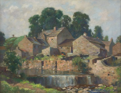 Lot 15 - JAMES WHITELAW HAMILTON R.S.A.,R.S.W (SCOTTISH 1860-1932)