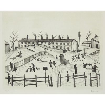 Lot 36 - LAURENCE STEPHEN LOWRY R.A. (BRITISH 1887-1976)