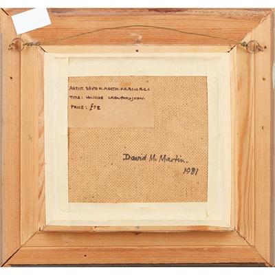 Lot 18 - DAVID MCLEOD MARTIN R.S.W., R.G.I., S.S.A (SCOTTISH 1922-2018)