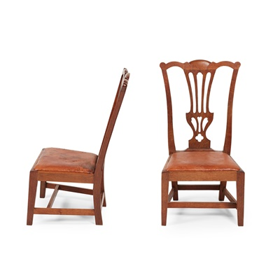 Lot 48-PAIR OF OAK 'GOSSIP CHAIRS BY WHEELER OR ARNCROACH