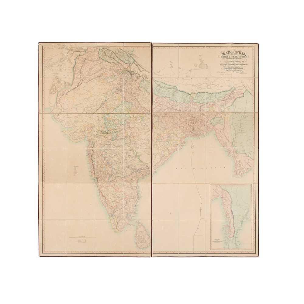 Lot 30 - India - Walker, John, mapmaker to the East India Company