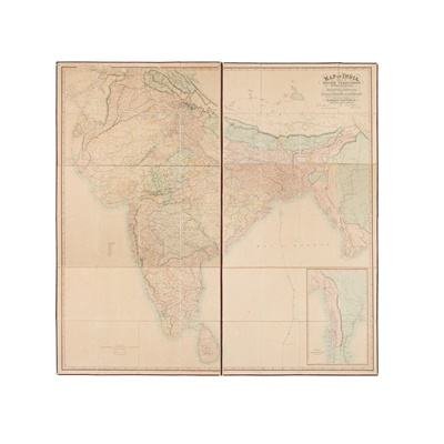 Lot 30 - India - Walker, John, mapmaker to the East India Company