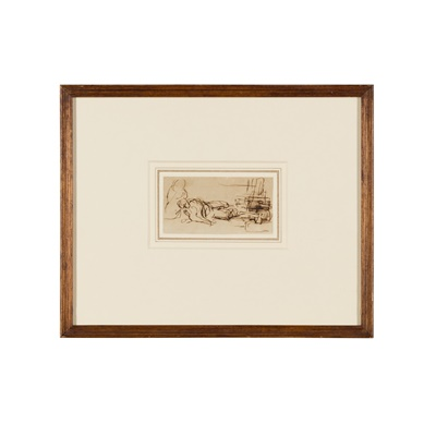 Lot 26 - SIR DAVID WILKIE R.A. (SCOTTISH 1785-1841)