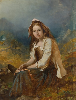 Lot 19-JAMES COUTTS MICHIE A.R.S.A. (SCOTTISH 1861-1919)