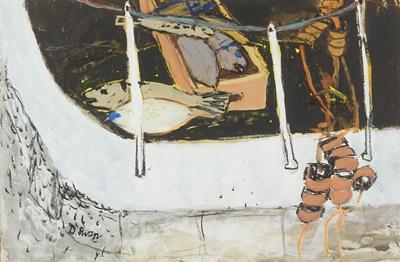 Lot 34 - DOUGLAS SWAN (AMERICAN/BRITISH 1930-2000)