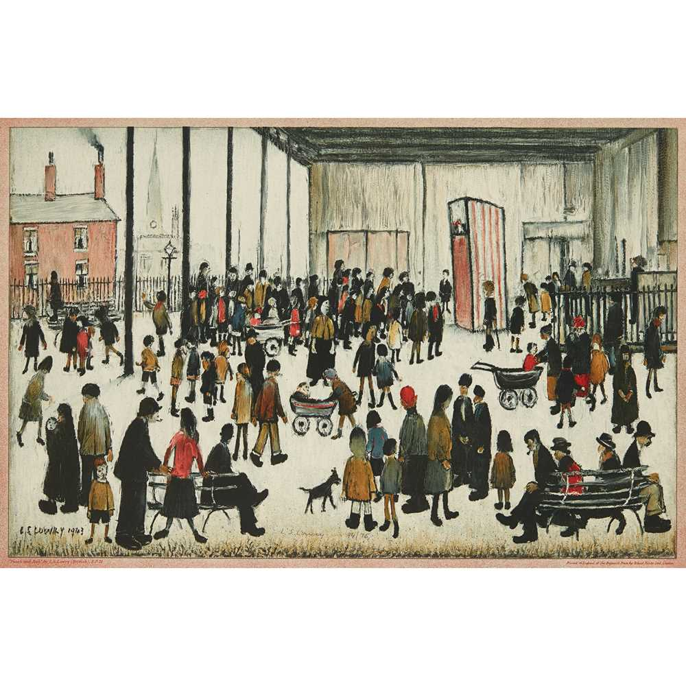 Lot 7-LAURENCE STEPHEN LOWRY R.A. (BRITISH 1887-1976)