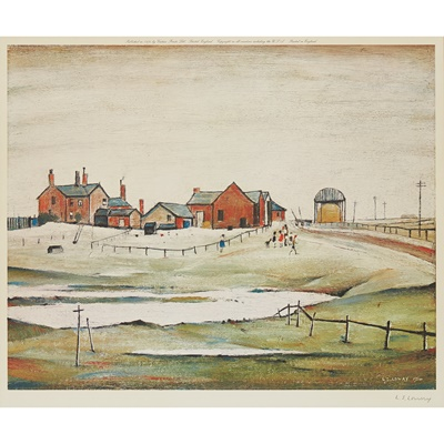 Lot 8-LAURENCE STEPHEN LOWRY R.A. (BRITISH 1887-1976)