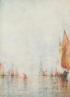 Lot 62 - WILLIAM GEDNEY BUNCE (AMERICAN 1840-1916)