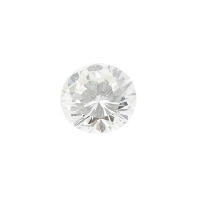 Lot 113 - A single loose round brilliant-cut diamond