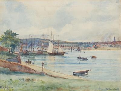 Lot 59 - GEORGE ANDREW NASMYTH LANGLANDS R.S.W. (SCOTTISH  1865-1939)