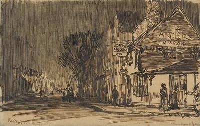 Lot 25 - SIR MUIRHEAD BONE H.R.S.A., H.R.W.S., H.A.R.I.B.A., H.R.E., L.L.B., D.LITT (SCOTTISH 1876-1953)