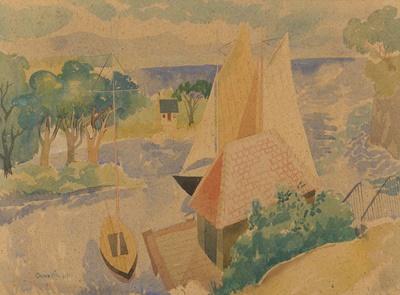 Lot 67 - WILLIAM CROSBIE R.S.A. (SCOTTISH 1915-1999)