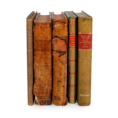 Lot 179 - 5 volumes, comprising Hutton, Charles