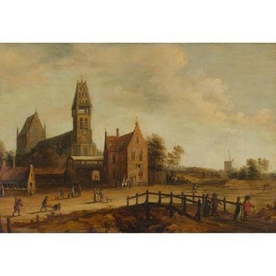 Lot 187 - 17TH CENTURY DUTCH SCHOOL