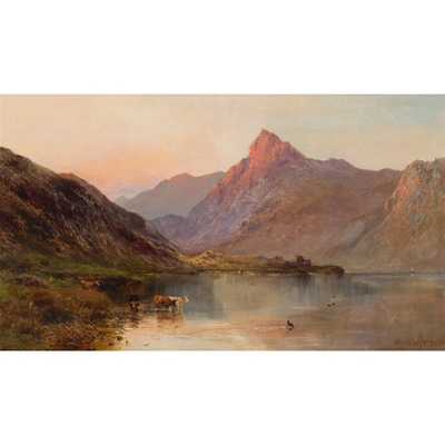 Lot 75 - ALFRED DE BREANSKI SENIOR (BRITISH 1852-1928)