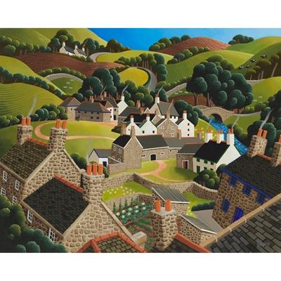 Lot 10 - GEORGE CALLAGHAN (IRISH B.1941)