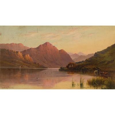 Lot 65 - ALFRED DE BREANSKI SENIOR (BRITISH 1852-1928)