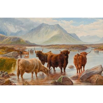 Lot 409 - CHARLES JONES (BRITISH 1836-1892)
