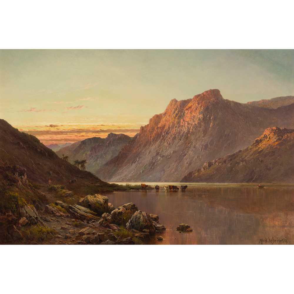 Lot 50 - ALFRED DE BREANSKI SENIOR (BRITISH 1852-1928)