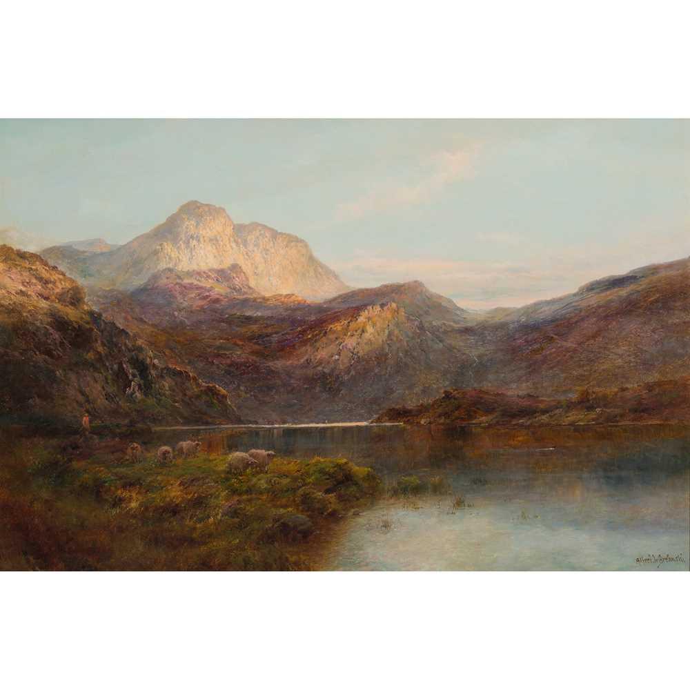Lot 133 - ALFRED DE BREANSKI SENIOR (BRITISH 1852-1928)