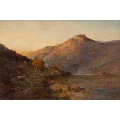Lot 114 - ALFRED DE BREANSKI SENIOR (BRITISH 1852-1928)