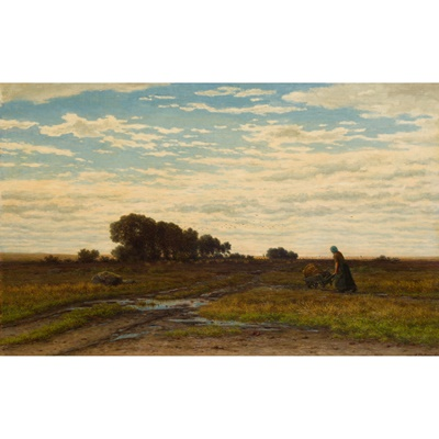 Lot 411 - GERRIT ALEXANDER GODART MOLLINGER (DUTCH 1836-1867)