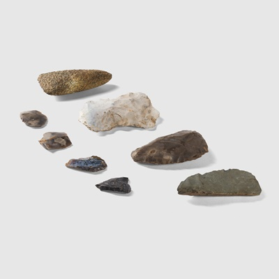 Lot 12-COLLECTION OF NEOLITHIC TOOLS