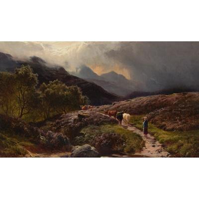 Lot 129 - SIDNEY RICHARD PERCY (BRITISH 1821-1886)