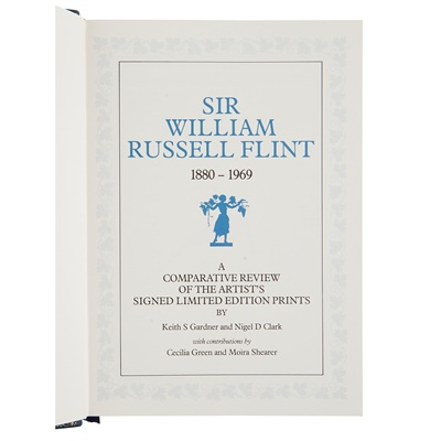 Lot 22 - WILLIAM RUSSELL FLINT P.R.A., P.R.W.S., R.S.W., R.O.I., R.E. (SCOTTISH 1880-1969)