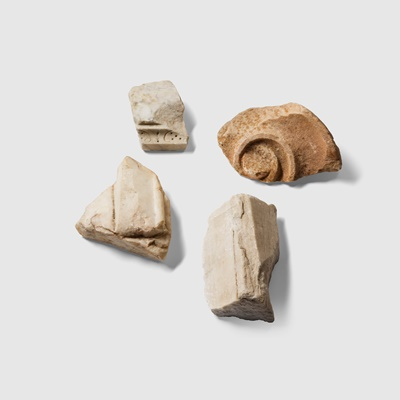 Lot 20 - COLLECTION OF MARBLE FRAGMENTS