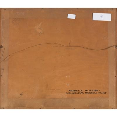 Lot 11 - SIR WILLIAM  RUSSELL FLINT  P.R.A., P.R.W.S., R.S.W., R.O.I., R.E. (SCOTTISH  1880-1969)