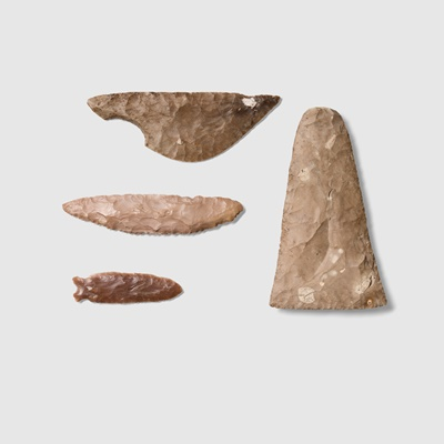 Lot 58 - COLLECTION OF PREDYNASTIC EGYPTIAN TOOLS