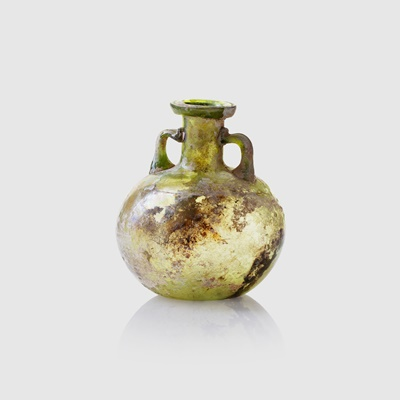 Lot 77 - ROMAN GLASS BOTTLE