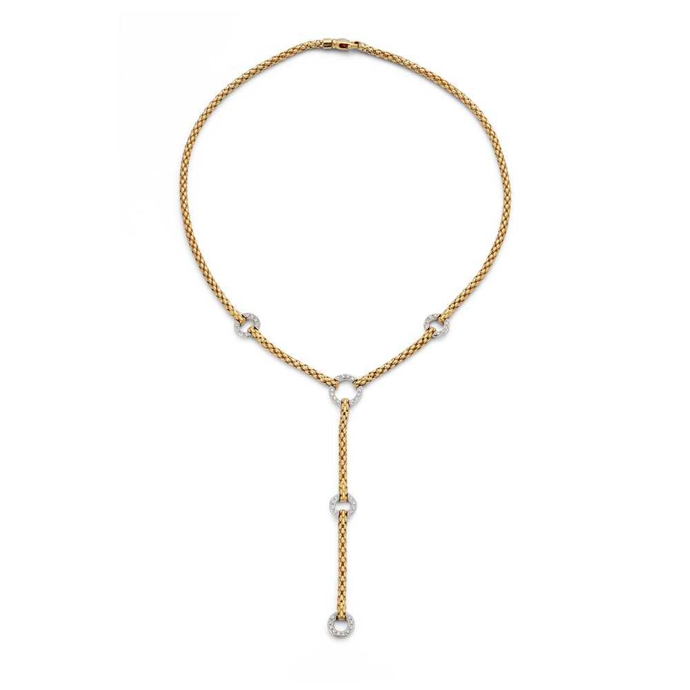 Lot 81 - A diamond-set necklace, by Fope