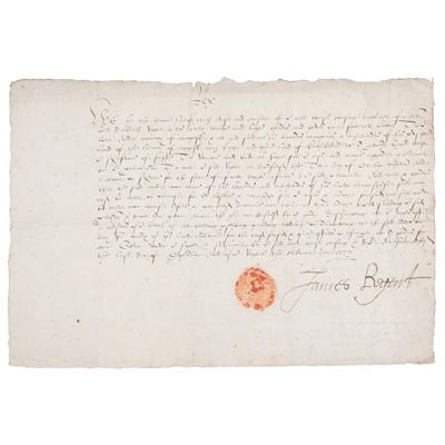 Lot 220 - Douglas, James - 4th Earl of Morton