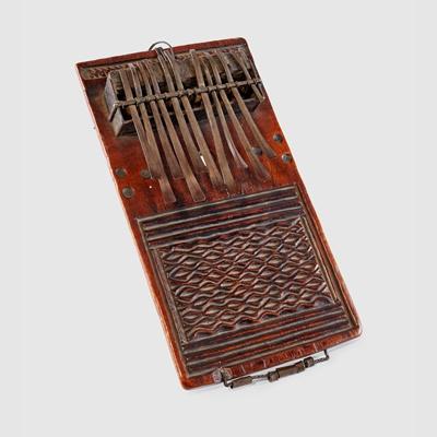 Lot 147 - CHOKWE THUMB PIANO, MBIRA