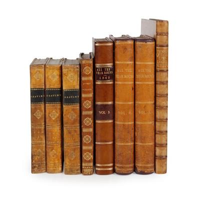 Lot 119 - Bindings, 9 volumes