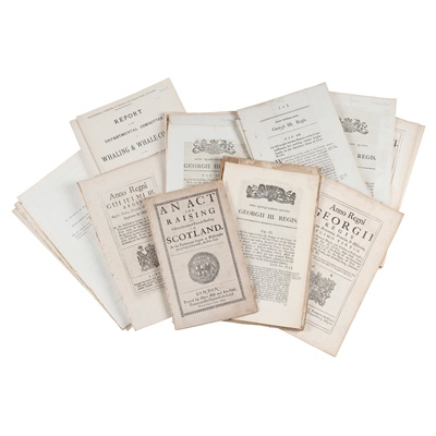Lot 44-Acts of Parliament, Parliamentary Papers & Reports
